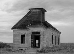 Old Church in Toyah, Texas