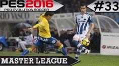 PES 2016 Master League #33 Las Palmas