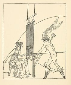 Adventures of Odysseus and the tale of Troy, 1918 Illustrated by Willy Pogany