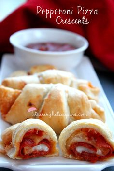 Pepperoni Pizza Crescents
