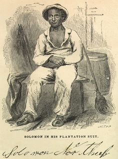 "In this excerpt, Solomon Northup, a once enslaved African American, details his experiences in a New Orleans slave pen.  ""We were now conducted into a large room in the front part of the building to which the yard was attached, in order to be properly trained, before the admission of customers. The men were arranged on one side of the room, the women on the other. . . . During the day he exercised us in the art of ""looking smart,"" and moving to our places with exact precision."