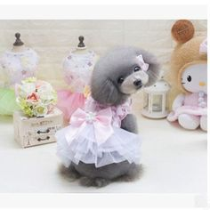 Lovd-Lovf Summer 2017 Pet Dog Skirt Luxury Princess Dress Flying Butterfly Pet Clothes Dog Clothing Big Bow Dress Dog Product
