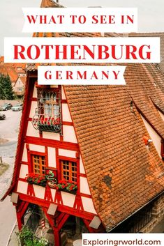 Visit Rothenburg Germany and walk the Medieval wall, sample beer, shop, go to the Crime Museum, see the village and market square Road Trip Europe, Europe Travel Guide, France Travel, Germany Travel, Travel Guides, Germany Destinations, Travel Destinations, Rothenburg Germany, Beer Shop