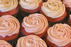 Strawberry Cupcakes with Fluffy Strawberry Frosting