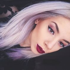 Played around with my new illamasqua Fatale Eye Shadow Palette again, also wearing Illamasqua's skin base with hourglasscosmetics veil primer underneath. On my lips is colourpopcosmetics lip pencil & lipstick in LBB @leannelimwalker  Check out the video for this look on my YouTube channel LLimWalker