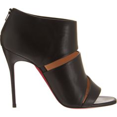 Christian Louboutin Cachottiere ($995) ❤ liked on Polyvore