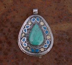 Afghanistan Vintage Pashtun Sterling Silver by AfghanTribalArts