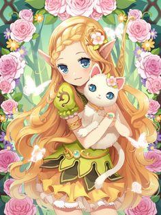 """cute ~~ Artist: """"N★A"""""""