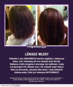 Stylowi.pl - Odkrywaj, kolekcjonuj, kupuj Beauty Skin, Health And Beauty, Hair Beauty, Hair Remedies, Toddler Hair, Hair Repair, Natural Cosmetics, Hair Hacks, Hair Tips