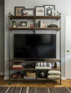 création d'un meuble télé/rangement sur mesure...