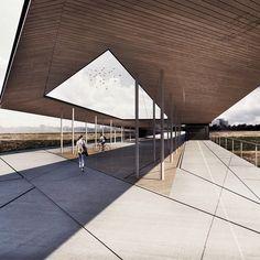 "International architecture students competition: ""Restart your city center""- KAfe 2016 Lithuania-Connection Pedestrian Bridge Between Santaka Park and Vilijampole"