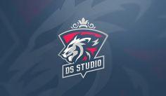 Collection logos part 2 on Behance Awesome Logos, Great Logos, Logo Tutorial, Sports Team Logos, Game Logo Design, Esports Logo, Web Design, Graphic Design, Flat Icons