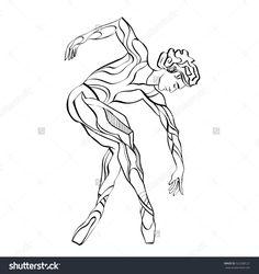 dancing isolated man.dance stylized man.ballet jump.oriental dancer