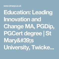 leading innovation change The york business school mba in leading innovation and change will be of interest to you if you are a career professional who wishes to develop your skills in leading innovation and change, or you are currently supporting innovation and change in the workplace or in the community.