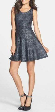 Oh my! Glitter Skater Dress