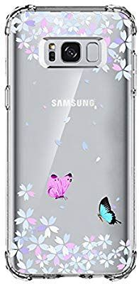 meet e4877 f1f71 Galaxy S8 Case Clear, UCMDA Shockproof Bumper: Amazon.co.uk ...