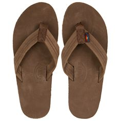 f14d492e724 Rainbow Sandals Single Layer Mens Sandals