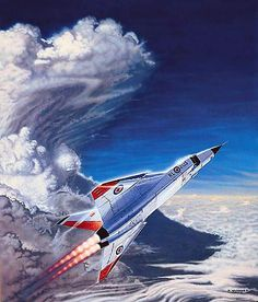 The Canadian Avro Arrow Military Jets, Military Aircraft, Avro Arrow, Arrow Art, Nose Art, Aviation Art, Fighter Jets, Space Fighter, Air Force