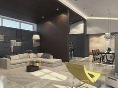Contemporary private villa interior by Shamsudin Kerimov 02