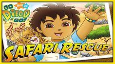 Go Diego Go Full Game for Kids - Episodes Go Diego Go Safari Rescue FULL...