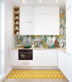 Cocinas blancas - Blog Casaenorden: ideas para la organización y decoración de tu casa: Tendencias y estilos: cocinas blancas