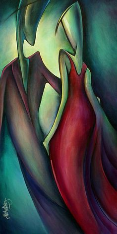 Last Dance Painting by Michael Lang