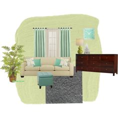 Living Room Re-Do, created by shimmy37 on Polyvore