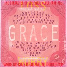 Grace Quote Illustrated by Lori Weitzel | orlando illustrator : lori weitzel : a daily personal art blog