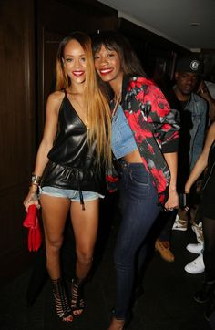 Splurge-Rihannas-40-40-Club-Givenchy-Nappa-Leather-Top-And-Brian-Atwood-Gladiator-Isabeli-Sandals