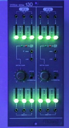MATRIXSYNTH: Roland System 100M DUAL VCA 130 SN 383392 with Glo...