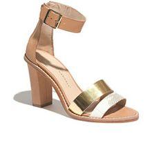 Loeffler Randall® Two-Tone Elke Sea Heels #neoprep