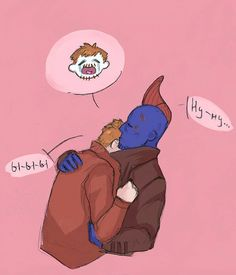 """""""I thought you were dead, you son of a bitch!"""" """"Watch your language, Quill! Disney Marvel, Marvel Heroes, Marvel Movies, Marvel Avengers, Gardians Of The Galaxy, Yondu Udonta, Show Me A Hero, Star Lord, Good Good Father"""