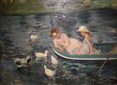 Mary Cassatt, beautiful painting at Crystal Bridges