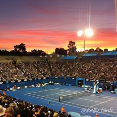 #tennis #ausopen  Visiting Australia and going to the open.  That would be a trip of a lifetime!
