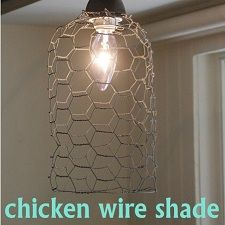 chicken wire shade...  Did anyone notice this doesn't seem to shade very much?