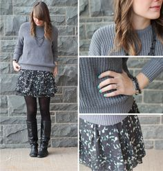 just an all around cute outfit for winter/early spring.