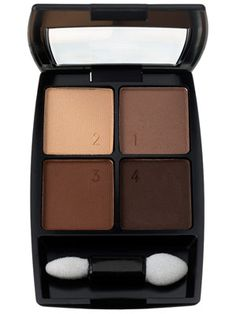 Loreal Canyon Stone quad eyeshadow:  one of my go-to for neutral eye faves