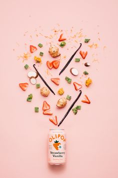 Still Life shoot for Olipop///////Photographer: Anastasiia Sapon/////////Break maiden/////////Food Stylist: Kimberly Kissling Flat Lay Photography, Food Photography Styling, Creative Photography, Food Styling, Product Photography, Food Design, Web Design, Packaging Design, Branding Design