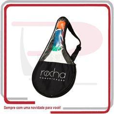 Raqueteira para kit de frescobal personalizada. www.brindice.com.br/brindes/porta_raquete