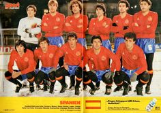 Image Foot, Team Photos, Football Team, Basketball Court, Leather Jacket, Baseball Cards, Sports, Vintage Sport, 1984