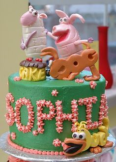in love with word world and this cake!