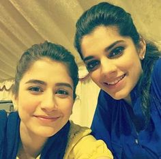 Beautiful Syra Yusuf & Sanam Saeed<3