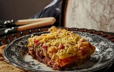 Ground Meat, Meat Recipes, Lasagna, Macaroni And Cheese, Beverages, Meals, Cooking, Ethnic Recipes, Food