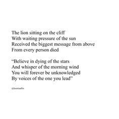 poetry. poem.