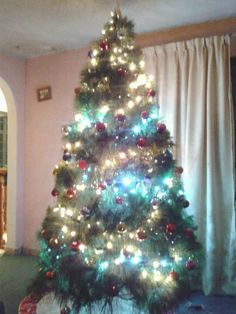 Árbol de Navidad listo!!