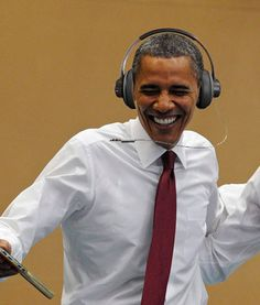 President Barack Obama Now Has A Playlist On Spotify