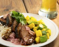 Hoisin Glazed Pork Tenderloin. Bring the tropics to your home. This dish basically tastes like Hawaii. http://www.chefd.com/collections/all/products/hoisin-glazed-pork-tenderloin