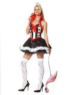 40€ Wunderland Königin Kostüm
