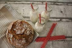 Ranteita myöjen taikinasa: Nopea kaurapataleipä myös gluteenittomana Bread, Baking, Food, Brot, Bakken, Essen, Meals, Breads, Backen