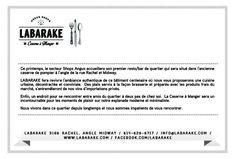 Coming soon, Labarake